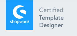 Logo Shopware 5 - Certified Template Designer